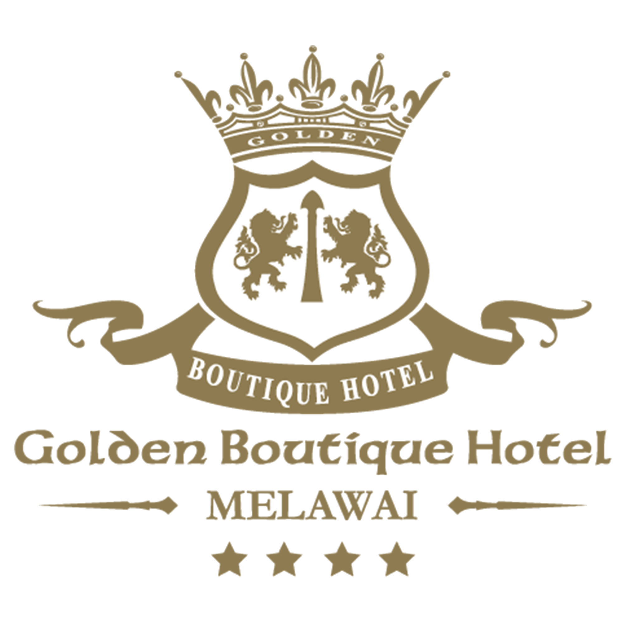 Golden boutique hotel melawai for Boutique hotel logo